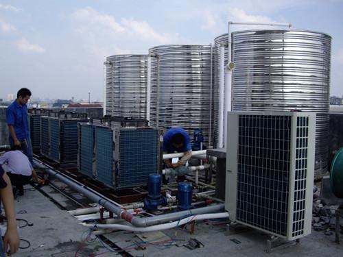 花都区某宾馆热泵热水工程