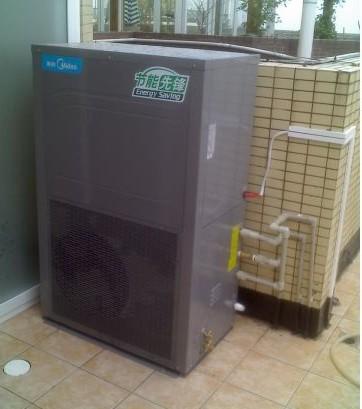 广州某小区空气能热水工程