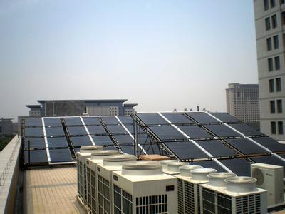 花都区某宾馆太阳能热水工程