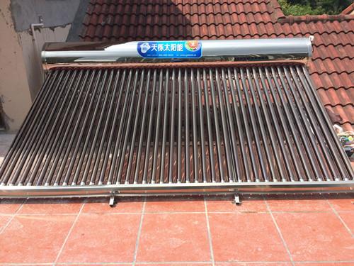 雅居乐半山豪庭别墅太阳能热水器
